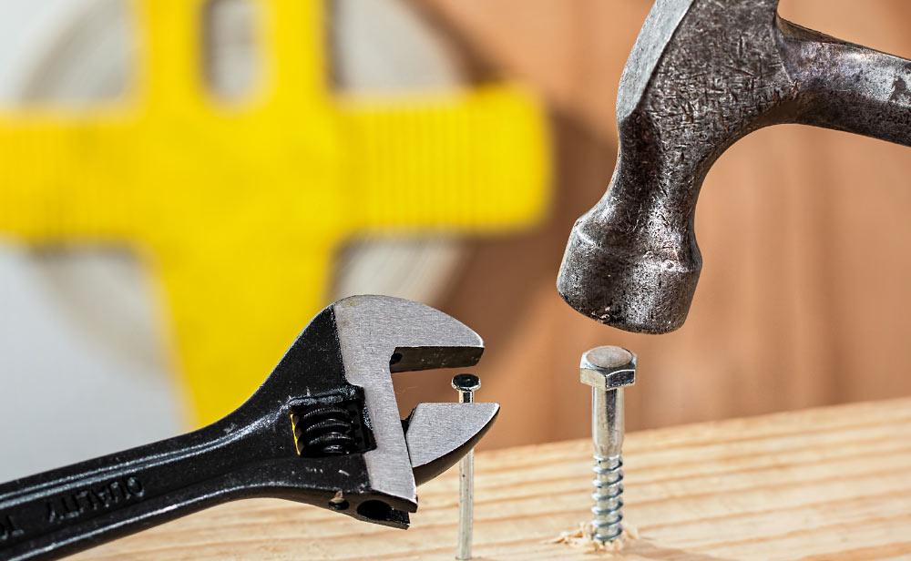 Werkzeuge für den Montageserive